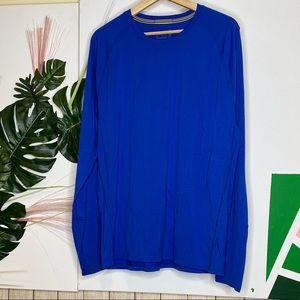 {Smartwool} Blue Base Layer Long Sleeve